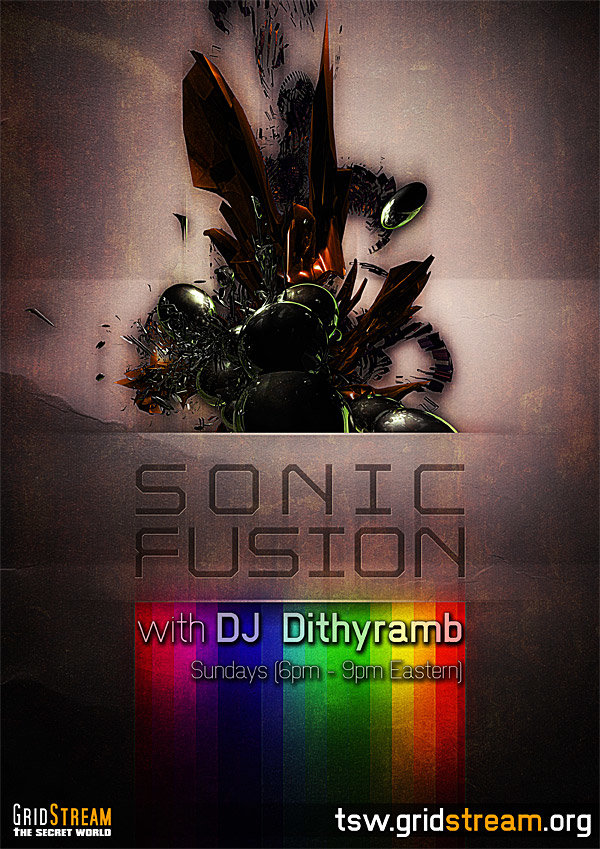 Sonic Fusion - Show Poster